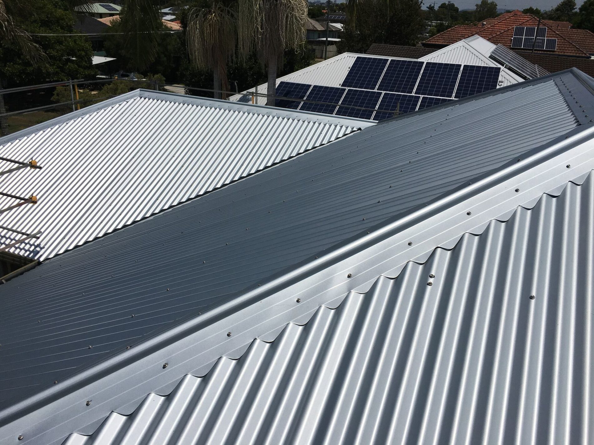Steel Roof The Mighty Roofer Brisbane